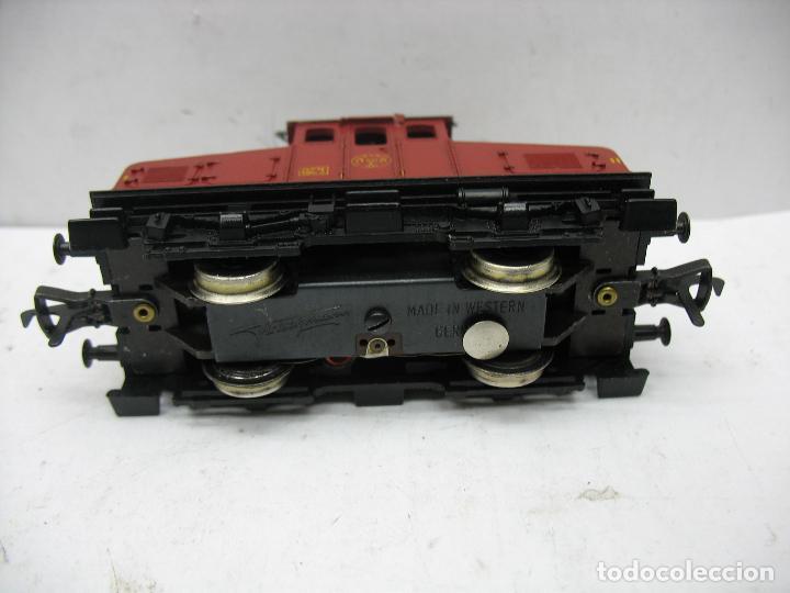 Trenes Escala: Fleischmann - Locomotora eléctrica 1302 GFN 1963 corriente continua - Escala H0 - Foto 4 - 115477075