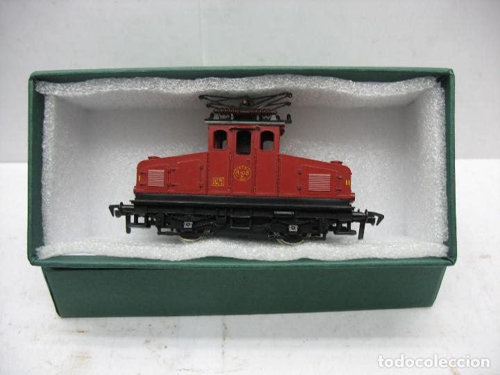 Trenes Escala: Fleischmann - Locomotora eléctrica 1302 GFN 1963 corriente continua - Escala H0 - Foto 5 - 115477075
