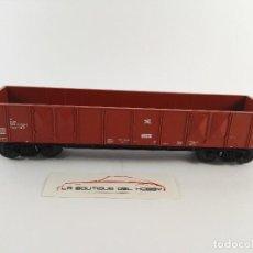 Trenes Escala: VAGON DE MERCANCIAS BORDE MEDIO 593 0 021 DB FLEISCHMANN 8282 ESCALA H0. Lote 125071355