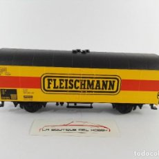Trenes Escala: VAGON DE MERCANCIAS CERRADO 816 1 988 FLEISCHMANN ESCALA H0. Lote 125071587