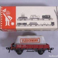 Trenes Escala: VAGON DE MERCANCIAS FLEISCHMANN 5200 - ESCALA H0. Lote 130359806