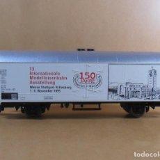 Trenes Escala: FLEISCHMANN H0 - VAGÓN REFRIGERADO - 150 ANIVERSARIO. Lote 132986506
