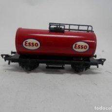 Trenes Escala: VAGÓN CISTERNA ESCALA HO DE FLEISCHMANN . Lote 133909050