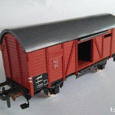 Trenes Escala: FLEISCHMANN H0 VAGÓN CARGA CERRADO . Lote 136223950