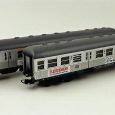 Trenes Escala: FLEISCHMANN 5898-5899 PAREJA DE COCHES . Lote 138141102