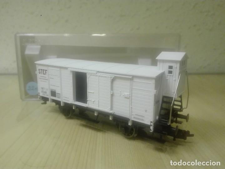 VAGON CERRADO ISOTERMICO (CON GARITA) , STEF ,SNCF , REF. 5365FA (Juguetes - Trenes Escala H0 - Fleischmann H0)