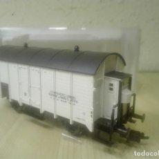 Trenes Escala: VAGON CERRADO CON GARITA (TRANSPORTES PRODUCTOS LÁCTEOS).REF.5346F. Lote 139114638
