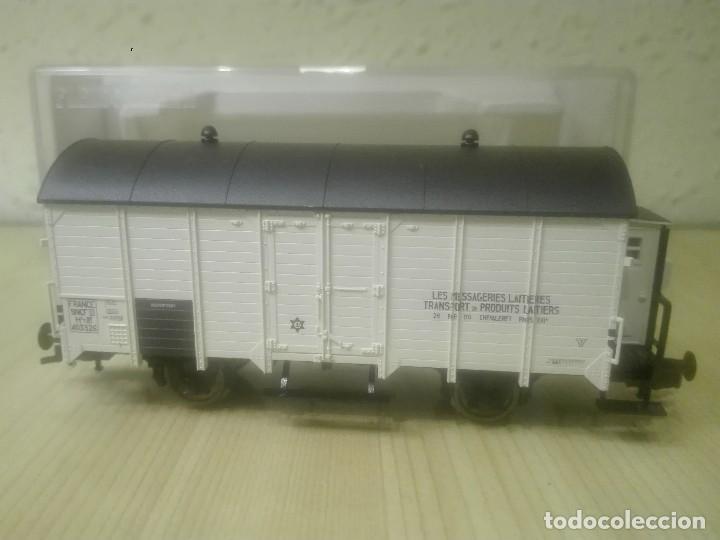 Trenes Escala: VAGON CERRADO CON GARITA (transportes productos lácteos).Ref.5346F - Foto 3 - 139114638