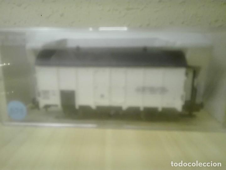 Trenes Escala: VAGON CERRADO CON GARITA (transportes productos lácteos).Ref.5346F - Foto 2 - 139114638