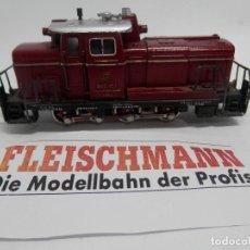 Trenes Escala: LOCOMOTORA DIESEL ESCALA HO DE FLEISCHMANN. Lote 140055274