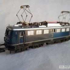 Trenes Escala: FLEISCHMANN 1337 DE LA DB E-10 134 LOCOMOTORA ELÉCTRICA HO CORRIENTE CONTINÚA. Lote 140149006