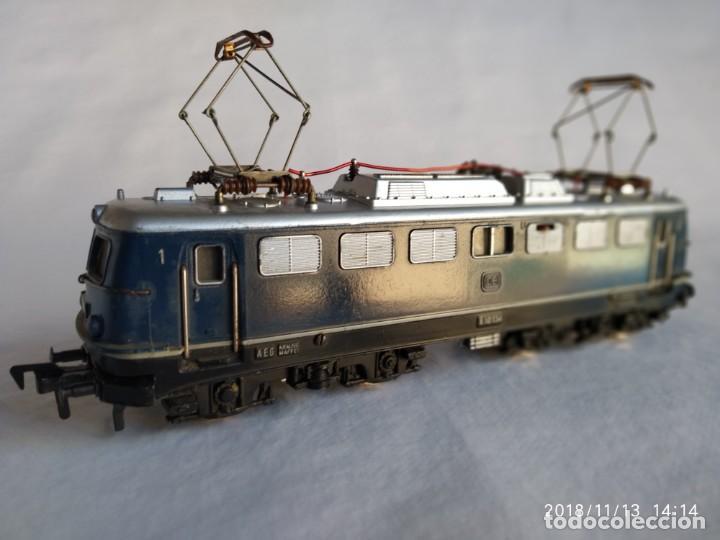 Trenes Escala: Fleischmann 1337 de la DB E-10 134 Locomotora Eléctrica HO corriente continúa - Foto 2 - 140149006