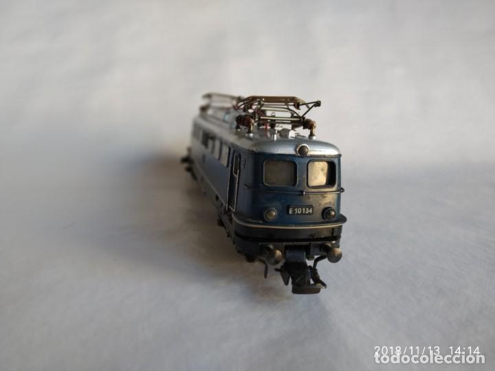 Trenes Escala: Fleischmann 1337 de la DB E-10 134 Locomotora Eléctrica HO corriente continúa - Foto 3 - 140149006