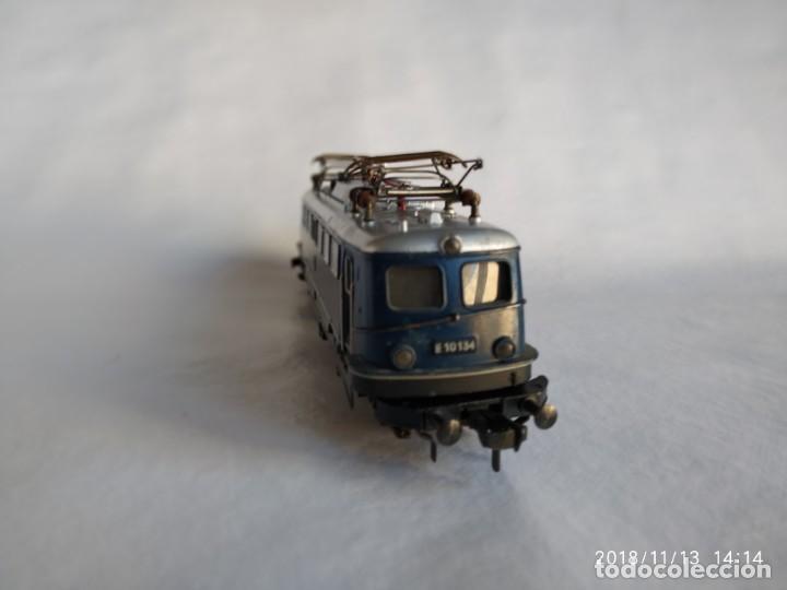 Trenes Escala: Fleischmann 1337 de la DB E-10 134 Locomotora Eléctrica HO corriente continúa - Foto 4 - 140149006