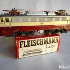 Trenes Escala: FLEISCHMANN 4336 DE LA DB E-112 310-8 TEE RHEINPFEIL LOCOMOTORA ELÉCTRICA HO CORRIENTE CONTINÚA. Lote 140150718