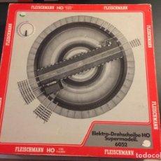 Trenes Escala: PUENTE GIRATORIO ELECTRICO FLEISCHMANN REF. 6052. Lote 146217074