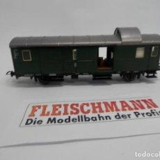 Trenes Escala: VAGÓN FURGON DE LA DB ESCALA HO DE FLEISCHMANN . Lote 147246106