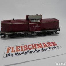 Trenes Escala: LOCOMOTORA DIESEL DE LA DB ESCALA HO DE FLEISCHMANN. Lote 147362182