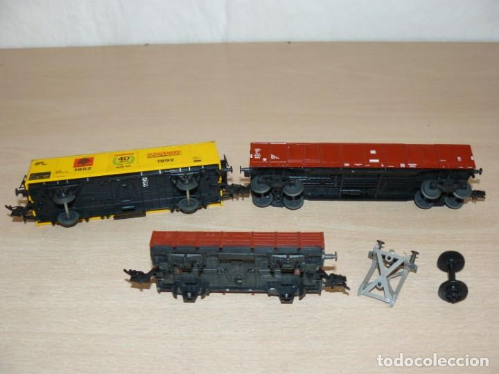Trenes Escala: alfreedom FLEISCHMANN Lote 3 Vagones Mercancías uno de ellos Aniversario 40 años 1952-1992 Escala H0 - Foto 5 - 149397166