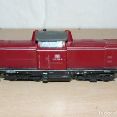 Trenes Escala: ALFREEDOM FEISCHMANN LOCOMOTORA DIESEL DB 212 258-8 ESCALA H0 MADE IN GERMANY AÑOS 80. Lote 149403726
