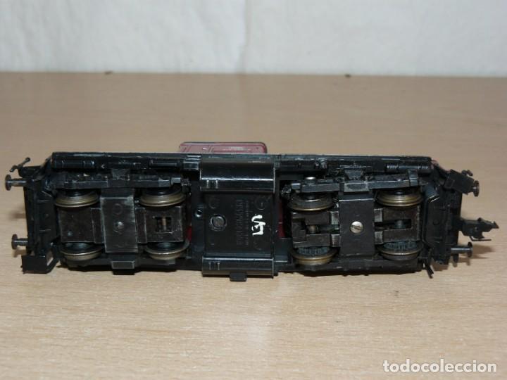 Trenes Escala: alfreedom FEISCHMANN Locomotora Diesel DB 212 258-8 Escala H0 Made in Germany años 80 - Foto 5 - 149403726