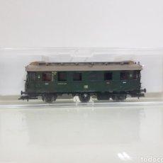 Trenes Escala: FLEISCHMANN 5064 ESCALA H0 CORRIENTE CONTINUA DE 14 CM DE ALEMANIA SEGUNDA CLASE. Lote 150360416