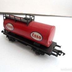 Trenes Escala: FLEISCHMANN - VAGON CISTERNA ESSO HO - AÑOS 70. Lote 152841994