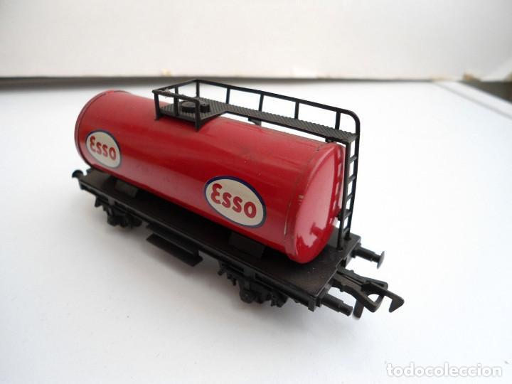 Trenes Escala: FLEISCHMANN - VAGON CISTERNA ESSO HO - AÑOS 70 - Foto 3 - 152841994