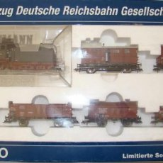 Trenes Escala: SET FLEISCHMANN DE LA DRG CON COLORES DE LOS FERROCARRILES PRUSIANOS REF: 4900 DIGITAL DCC. Lote 153229270