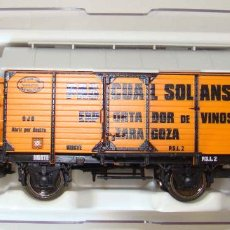 Trenes Escala: FLEISCHMANN 545510 - VAGON FOUDRE PASCUAL SOLANS CIA. NORTE, CON GARITA FRENO.. Lote 156166830