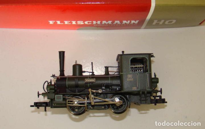 FLEISCHMANN H0 481101 LOCOMOTORA DE VAPOR NÜRNBERG BAYER. D VI K. BAY.STS.B. DIGITAL DCC (Juguetes - Trenes Escala H0 - Fleischmann H0)