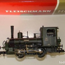 Trenes Escala: FLEISCHMANN H0 481101 LOCOMOTORA DE VAPOR NÜRNBERG BAYER. D VI K. BAY.STS.B. DIGITAL DCC. Lote 156168974