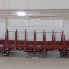 Trenes Escala: VAGON TELEROS DE LA OBB DE FLEISCHAMANN ESCALA H0 REF522301. Lote 156871650