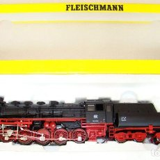 Trenes Escala: LOCOMOTORA DE VAPOR DE FLEISCHAMANN ESCALA H0 REF4176. Lote 156871970