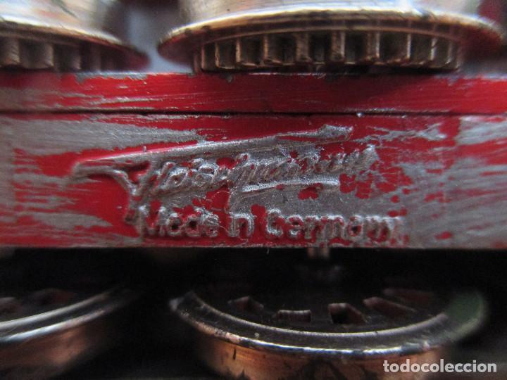 Trenes Escala: FLEISCHMANN H0: TREN MILITAR CUSTOMIZADO COMPUESTO POR LOCOMOTORA Y 3 VAGONES - Foto 10 - 158429866