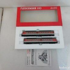 Trenes Escala: FLEISCHMANN H0 4430 TREN DIÉSEL ANALÓGICO DC ALEMÁN DB EP IV NUEVO A ESTRENAR NEW OVP. Lote 158526358