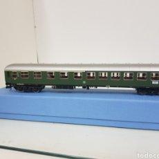 Trenes Escala: VAGON FLEISCHMANN ESCALA H0 PRIMERA Y SEGUNDA CLASE DE LA DB ALEMANA CORRIENTE CONTINUA 28 CM. Lote 160113766