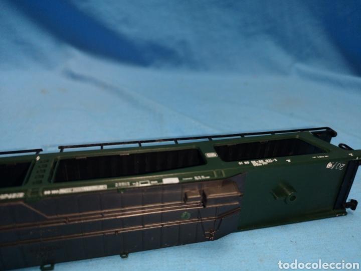 Trenes Escala: Vagon porta coches de Fleischmann 5284, escala h0, le falta el mecanismo abajo - Foto 7 - 166818969