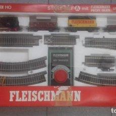 Trenes Escala: CAJA COMPLETA TREN FLEISCHMANN. Lote 170074156