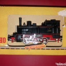 Trenes Escala: ANTIGUA LOCOMOTORA FLEICHMANN H0 VINTAGE GERMANY 60S. Lote 173534437