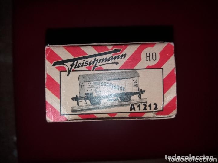 Trenes Escala: Vagon tren fleichmann escala h0 vintage germany - Foto 2 - 173808347