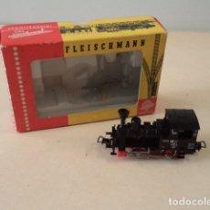 Trenes Escala: LOCOMOTORA FLEISCHMANN H0 4000 - CON CAJA Y FUNCIONANDO. Lote 174161882