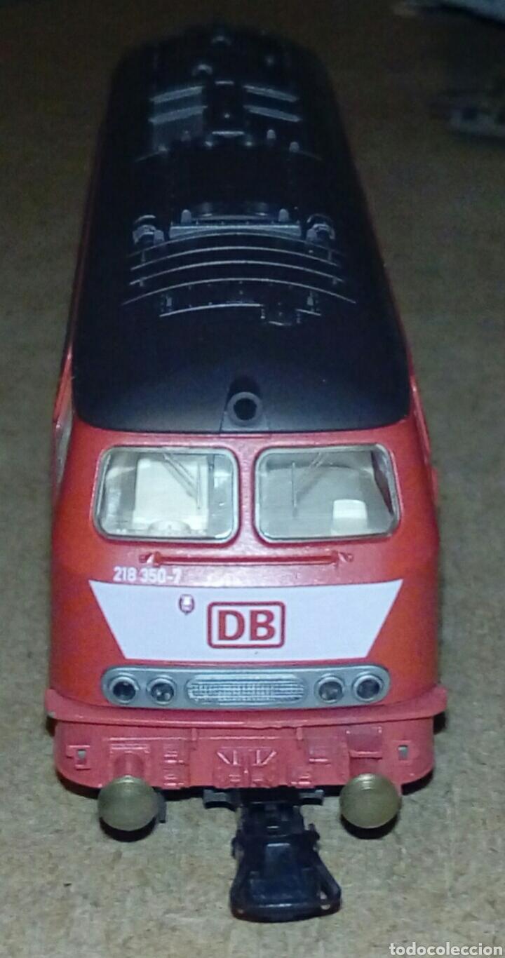 LOCOMOTORA 215 DB (Juguetes - Trenes Escala H0 - Fleischmann H0)