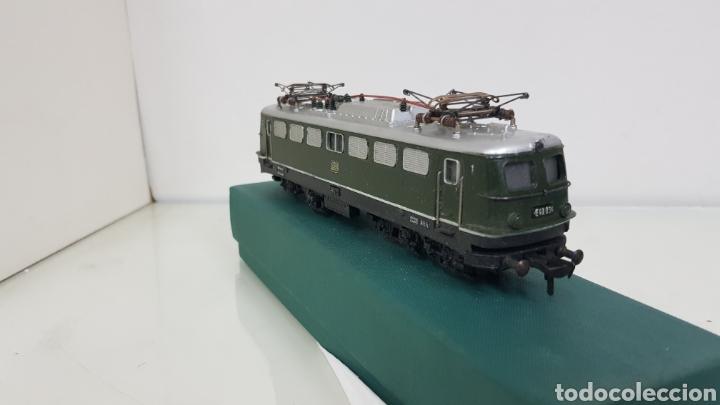 Trenes Escala: Locomotora Fleischmann de la DB alemana corriente continua de 21 cm en verde - Foto 2 - 178679647