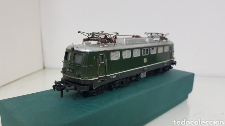Trenes Escala: Locomotora Fleischmann de la DB alemana corriente continua de 21 cm en verde - Foto 3 - 178679647