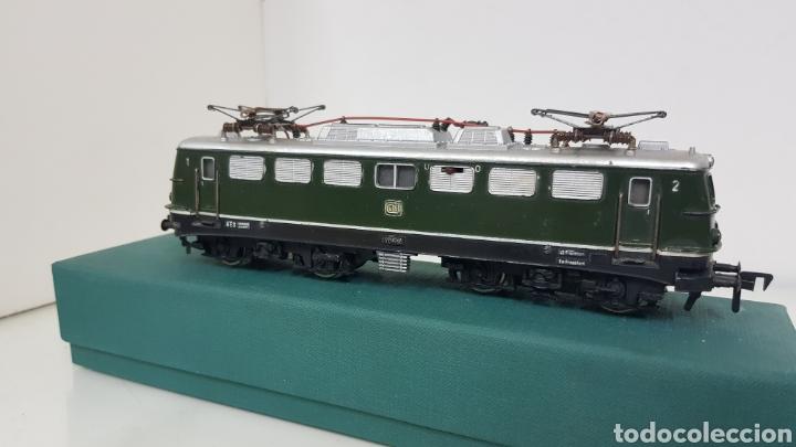 Trenes Escala: Locomotora Fleischmann de la DB alemana corriente continua de 21 cm en verde - Foto 4 - 178679647