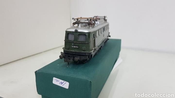 Trenes Escala: Locomotora Fleischmann de la DB alemana corriente continua de 21 cm en verde - Foto 5 - 178679647