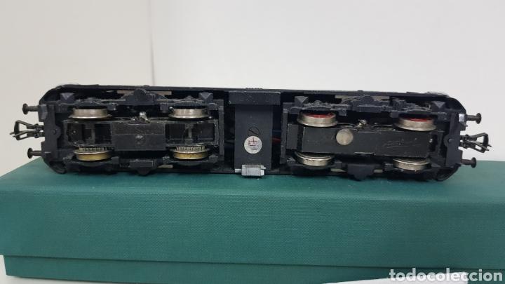 Trenes Escala: Locomotora Fleischmann de la DB alemana corriente continua de 21 cm en verde - Foto 6 - 178679647