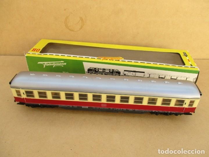 Trenes Escala: FLEISCHMAN VAGON PASAJEROS ESCALA H0 REF; 1500 T VA CON CAJA VER FOTOS - Foto 5 - 179212388