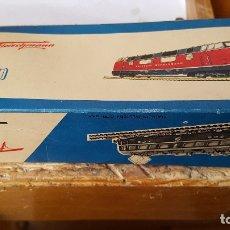 Trenes Escala: CAJA COM 20 VIAS FLEICHMANN H0 VINTAGE GERMANY 1703S. Lote 180930788